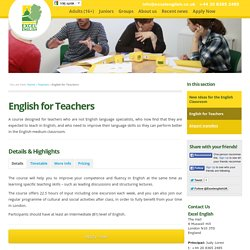 Excel English Language School, London, UK