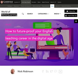 How to future-proof your English teaching career