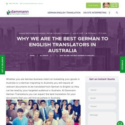 Many Features That We Know As The Best Translators In Australia.