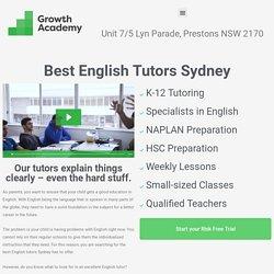 best english tutors sydney