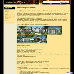 Home (english version) - ArchMOD project
