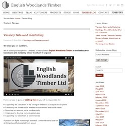 English Woodlands Timber Blog