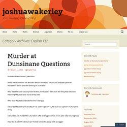 Wakerley, Joshua