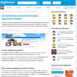 English by yourself : le site du Cned pour apprendre l'anglais