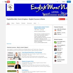 EnglishMarcNet: Corsi di Inglese - English Courses in Rome
