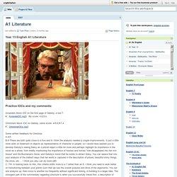 englishphan / A1 Literature