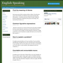 English Speaking