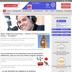 EnglishWaves.fr - The french radio station that speaks English!
