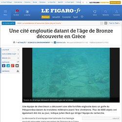 Une cité engloutie datant de l'âge de Bronze découverte en Grèce