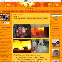 """engobes : Tous les messages sur engobes - L'atelier de poterie """"La Terre en Feu"""""""