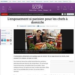 L'engouement si parisien pour les chefs à domicile