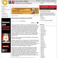 Engouement massif pour les MOOC