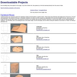 Laser Engraver Downloadable Projects Examples / Laser Cutter Machines Examples / laser engraver and cutting projects