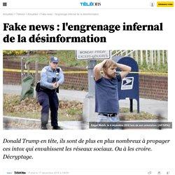 Fake news : l'engrenage infernal de la désinformation - 17 décembre 2016 -