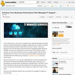 Enhance Your Business Performance With Managed IT Support - All