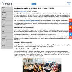 Speak With an Expert to Enhance Your Corporate Training