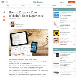 How to Enhance Your Website's User Experience