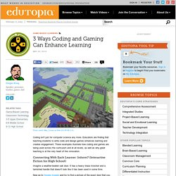 3 Ways Coding and Gaming Can Enhance Learning