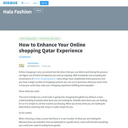 How to Enhance Your Online shopping Qatar Experience