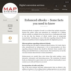 Enhanced eBooks – Some facts you need to know