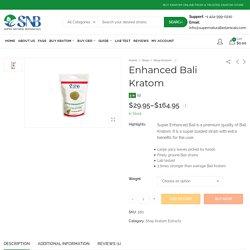 Bali Extracts Kratom Powder