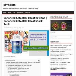Enhanced Keto BHB Boost reviews Get Slim Healthy With Unique Keto