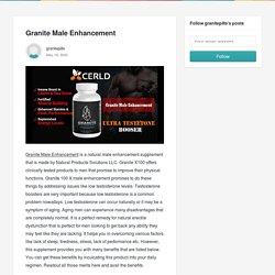 Granite Male Enhancement - granitepills