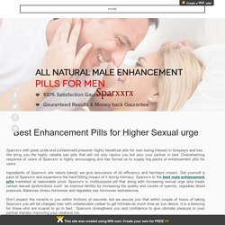 Best Male Enhancement Pills - Sparxxrx