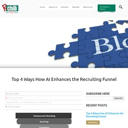 Top 4 Ways How AI Enhances the Recruiting Funnel
