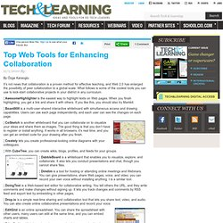Top Web Tools for Enhancing Collaboration