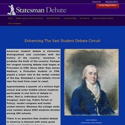 Student Debate Club & Camp At Statesman Debate