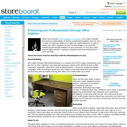 Enhancing your Professionalism through Office Supplies
