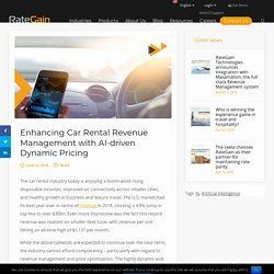 Enhancing Car Rental Revenue Management with AI-driven Dynamic Pricing