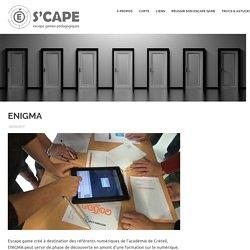 ENIGMA – S'cape