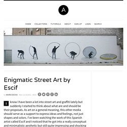 Enigmatic Street Art by Escif