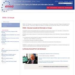 ENISA - En français