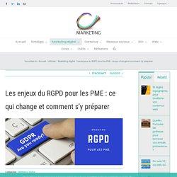 Enjeux du RGPD pour les PME : ce qui change & comment s'y préparer