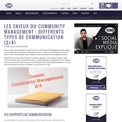 Les enjeux du Community Management (2/4)