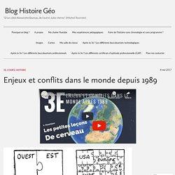 Enjeux et conflits dans le monde depuis 1989 – Blog Histoire Géo