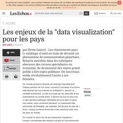 """Les enjeux de la """"data visualization"""" pour les pays"""