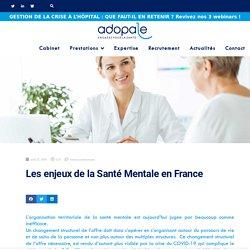 Les enjeux de la Santé Mentale en France