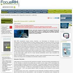 Enjeux RH à l'horizon 2015 : l'e-GRH (5/5)