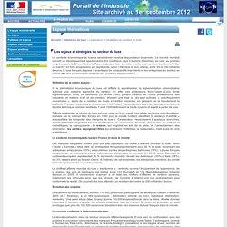 DGCIS - Les enjeux et stratégies du secteur du luxe