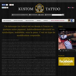 Tatouage Paris Kustom Tattoo