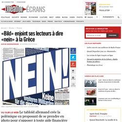 «Bild» enjoint ses lecteurs à dire «nein» à la Grèce