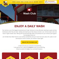 Enjoy a Daily Wash Service at Bee Clean Wash