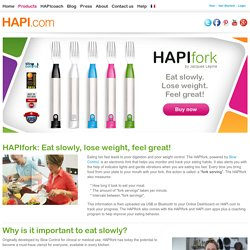 HAPI.com : Enjoy Your Food with HAPIfork by Jacques Lépine