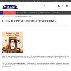 Enjoy the Incredible Benefits of Honey