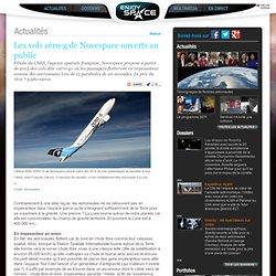 Les vols zéro-g de Novespace ouverts au public