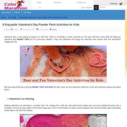9 Enjoyable Valentine's Day Powder Paint Activities for Kids